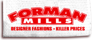 Forman Mills Coupon Code